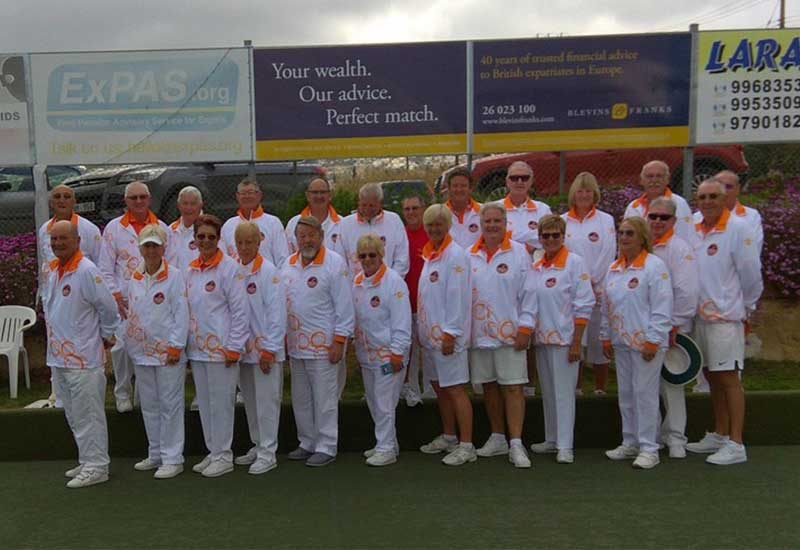 Coral Bay Bowls Club Members Sport New Attire - Pals Cyprus